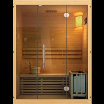 Sauna traditionnel vapeur ( 3 personnes )