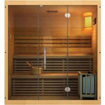 Sauna traditionnel vapeur ( 6 personnes )