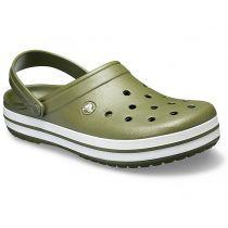 Sabot Crocs Crocband Vert Militaire/Blanc