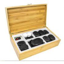 Pierres chauffantes de Basalte pour massage à réflexe ( 60 pièces )