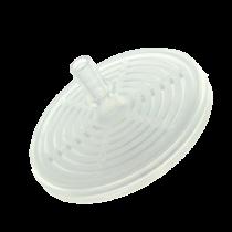 Filtre anti-bactérien et hydrophobe