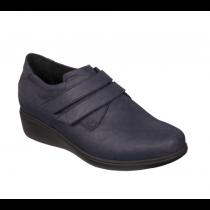 Chaussures fermées DIVA DOUBLE STRAPS Bleu Marine