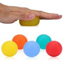 Balle en gel pour l'exercice de la main, ronde