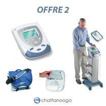 Eléctrothérapie avec Chariot, Sac et Batterie