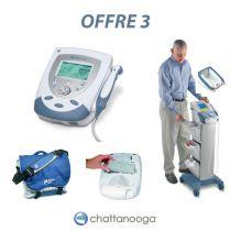 Appareil Conbiné US, Eléctrothérapie avec Chariot, Sac et Batterie