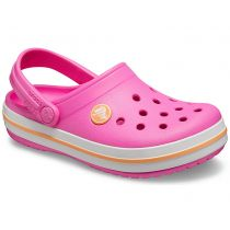 Sabot Crocs Crocband Clog K Electric Pink/ Cantaloupe