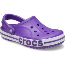 Sabot Crocs Bayaband Clog K Neon Purple
