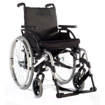 Fauteuil roulant pliant Basix 2 ( Dossier inclinable )