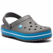 Sabot Crocs Crocband Charcoal/Bleu