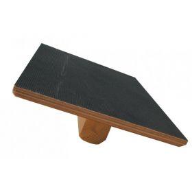 Planche à bascule et d'oscillation en bois, rectangulaire