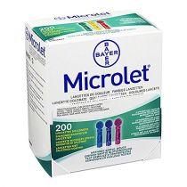 Microlet boite de 200 lancettes