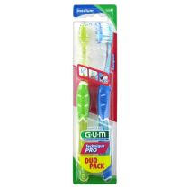 Duo Pack brosses à dents technique pro, médium GUM®