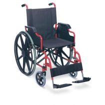 Fauteuil roulant avec reposes jambes