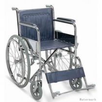 Fauteuil roulant pliable avec reposes jambes
