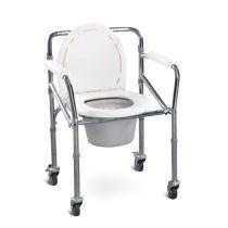 Chaise Garde-robe pliable avec roues