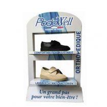 Présentoir PodoWell 3 paires au choix
