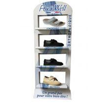Présentoir PodoWell 6 paires au choix